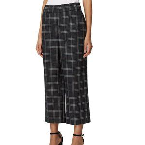 Tahari ASL 16 Black White Grid Pants NWT AJ69